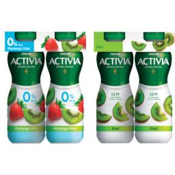 Danone activia® Iogurte liquido magro