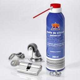 TOP CRAFT® Spray de Óleo de Silicone Universal