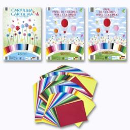 Cartolina/Papel Colorido