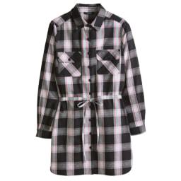 ESMARA® Camisa Comprida de Flanela para Senhora