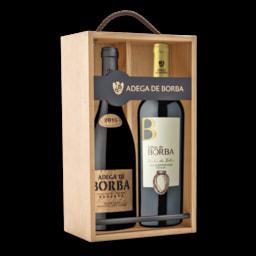 ADEGA DE BORBA Caixa Vinho Tinto Reserva e Vinho Tinto de Talha