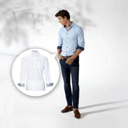 ROYAL CLASS® Camisa Moderna para Homem