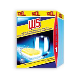 W5® Pastilhas para Máquina de Loiça All in 1