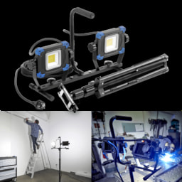 LIGHTZONE® Projetor de Trabalho LED