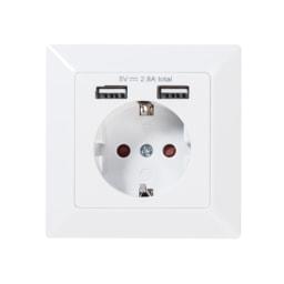POWERFIX® Tomada com 2 Portas USB