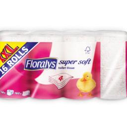 FLORALYS® Papel Higiénico 4 Folhas