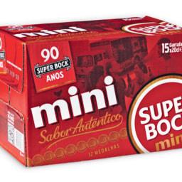 SUPER BOCK® Cerveja Mini Pack Económico