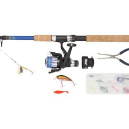 CRIVIT® Cana de Pesca com Acessórios 210-5