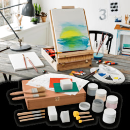 LIVING ART ® Conjunto de Pintura Artística