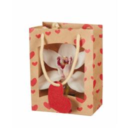Flor de Orquídea em Saco