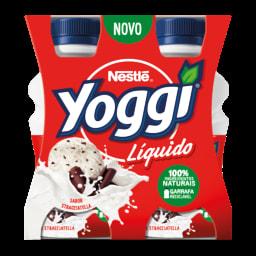 Yoggi Iogurte Líquido Stracciatella
