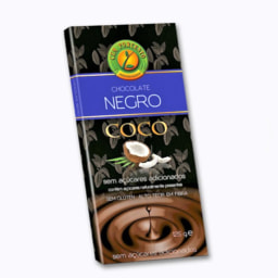 Tablete Chocolate Negro com Coco Biológico