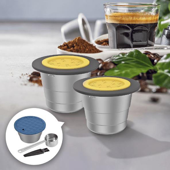 HOME CREATION® Cápsulas de Café Reutilizáveis
