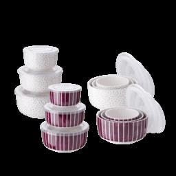 HOME CREATION® Tigelas em Porcelana