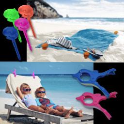 HOME CREATION® Molas para Toalha de Praia
