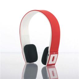 Auscultadores Bluetooth Vermelho