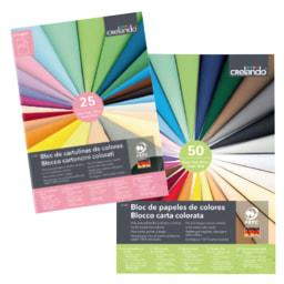 Bloco de Cartolinas/ Papel/Cartão