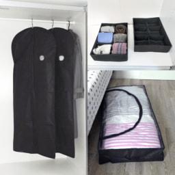 HOME CREATION® Caixa/ Saco/ Capa para Vestuário