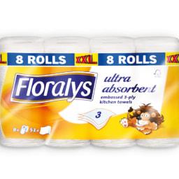 FLORALYS® Rolo Cozinha 3 Folhas