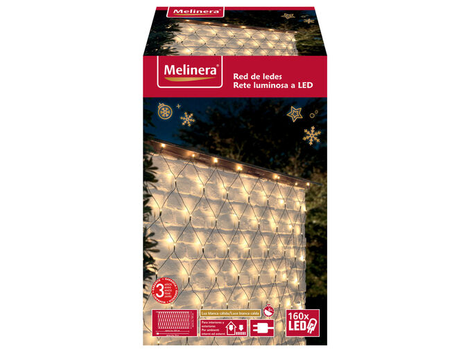 Melinera® Cortina / Rede de Luzes LED