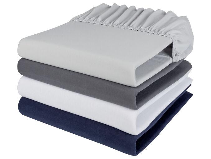 Livarno Home® Lençol Ajustável 90x100x200x25 CM