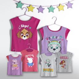 T-shirt Reversível para Menina