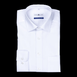 ROYAL CLASS® Camisa Branca para Homem