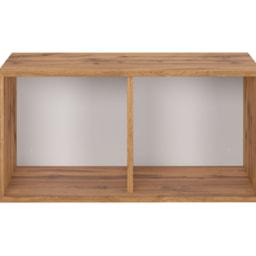 Livarno Living® Prateleira em Cubo com 2 Divisórias