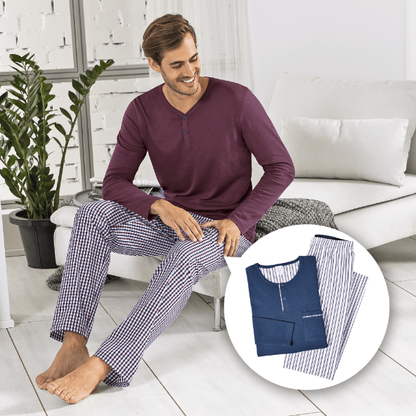 ROYAL CLASS® Pijama para Homem