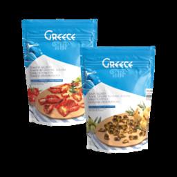 GREECE® Tomate Seco/ Azeitonas Desidratadas