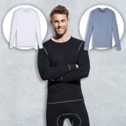 ENRICO MORI® Camisa Interior para Homem