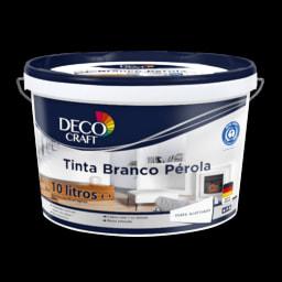 DECO CRAFT® Tinta Branco Pérola 10 l