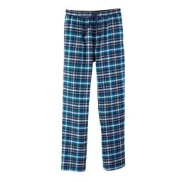Calças de Pijama em Flanela para Homem