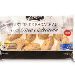 DELUXE® Pastéis de Bacalhau com Broa e Azeitona