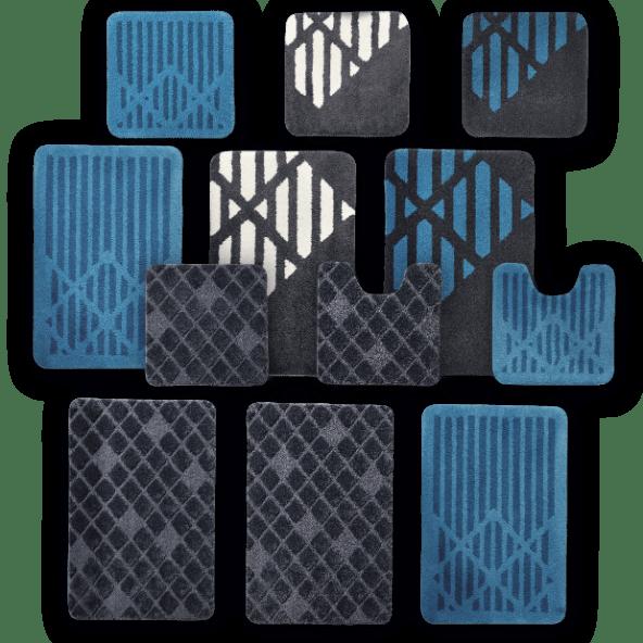 HOME CREATION® Conjunto de Tapetes Casa de Banho