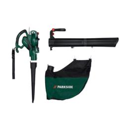 Parkside® Aspirador/Soprador  Folhas Elétrico 3000 W