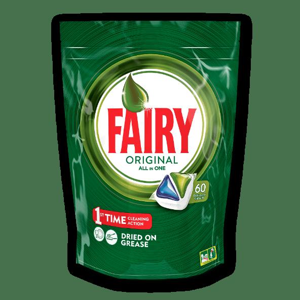 Fairy Pastilhas Máquina da Loiça All in One