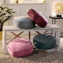 HOME CREATION® Almofada Veludo para Cadeira
