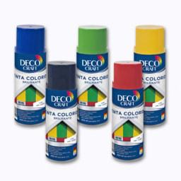 Tinta Colorida em Spray