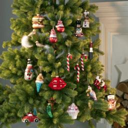 LIVING ART® Enfeite para Árvore de Natal em Vidro