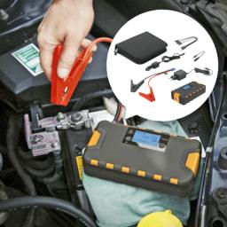 CAR XTRAS® Powerbank com Função de Apoio ao Arranque