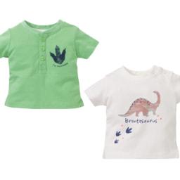 LUPILU® T-shirt Menino/ Menina 2 Unid.
