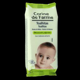 Corine de Farme Toalhitas Rosto e Mãos