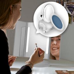 LIGHTZONE® Espelho de Maquilhagem