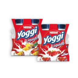 YOGGI® Iogurte Líquido Frutos Tropicais / Morango