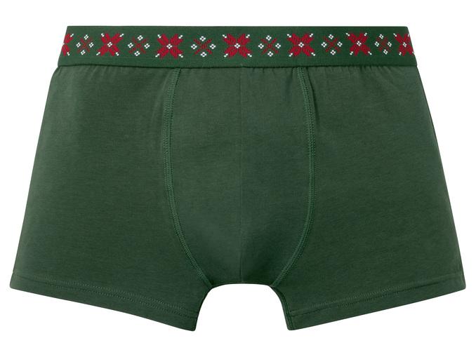 Livergy® Boxers Natalício para Homem