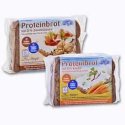Pão Proteico com Nozes ou Cenoura
