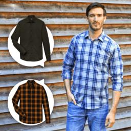 STRAIGHT UP® Camisa para Homem