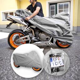 CAR XTRAS® Capa de Proteção para Motociclo