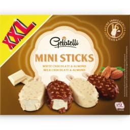 GELATELLI® Gelado Mini Mix Amêndoa Sortido
